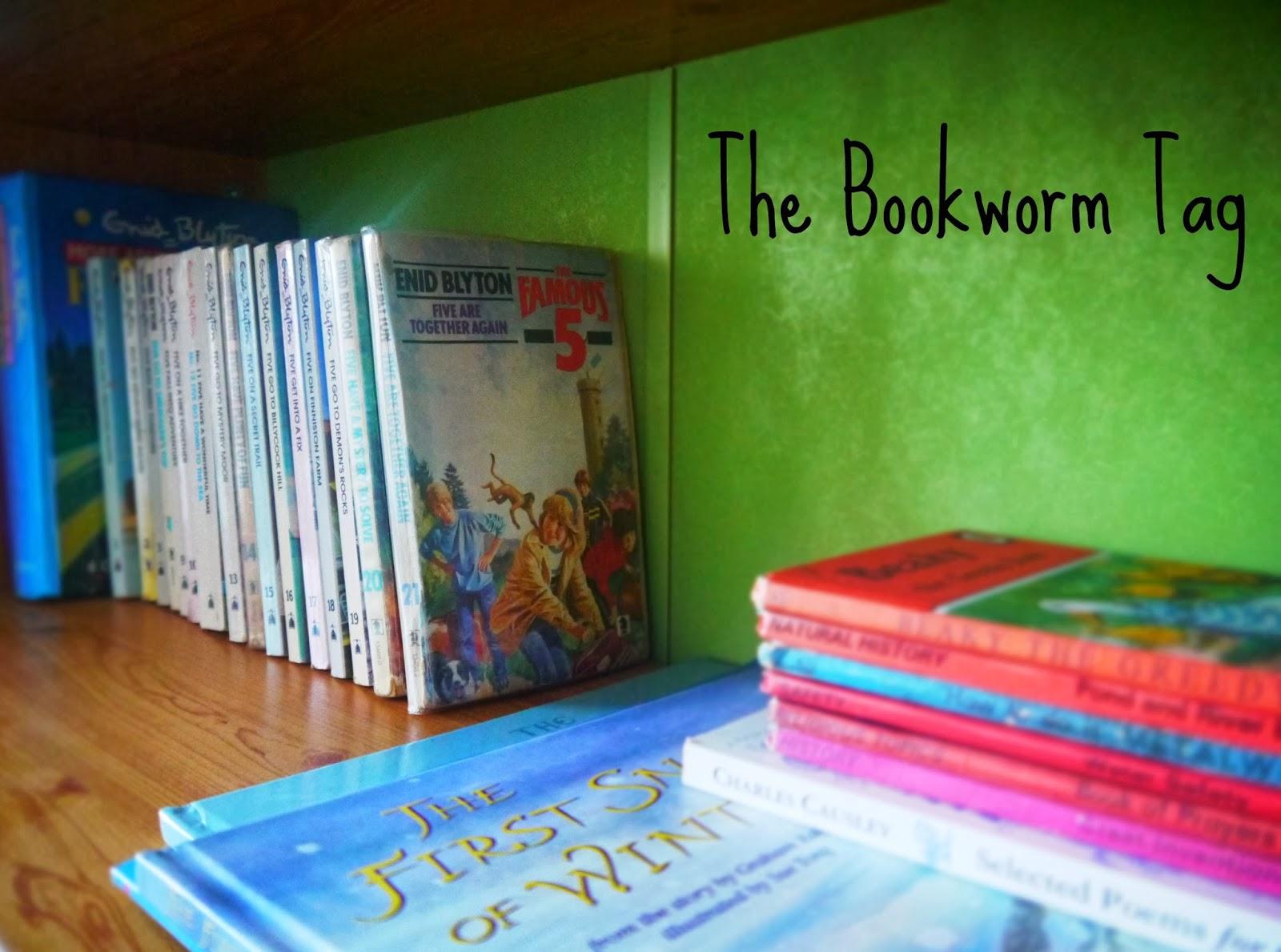 Children's books - Bookworm Tag