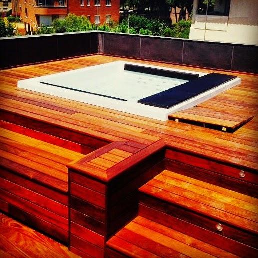 Jacuzzi exterior o jacuzzi interior jardines y terrazas for Se vende jacuzzi exterior