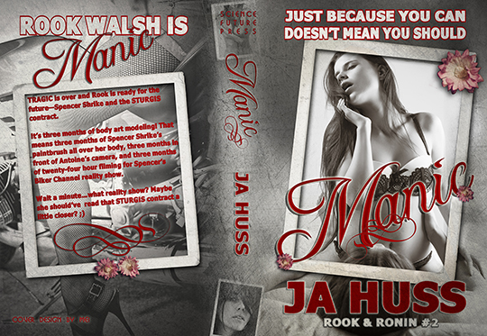 COVER REVEAL and GIVEAWAY: MANIC by JA Huss