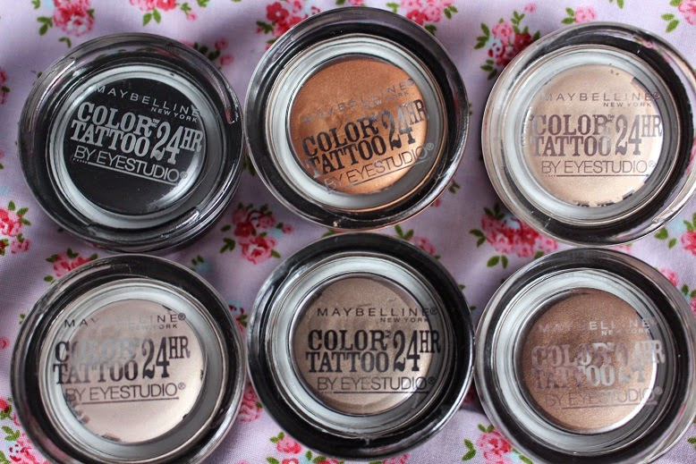Maybelline Dare To Go Nude Colour Tattoo Eyeshadow