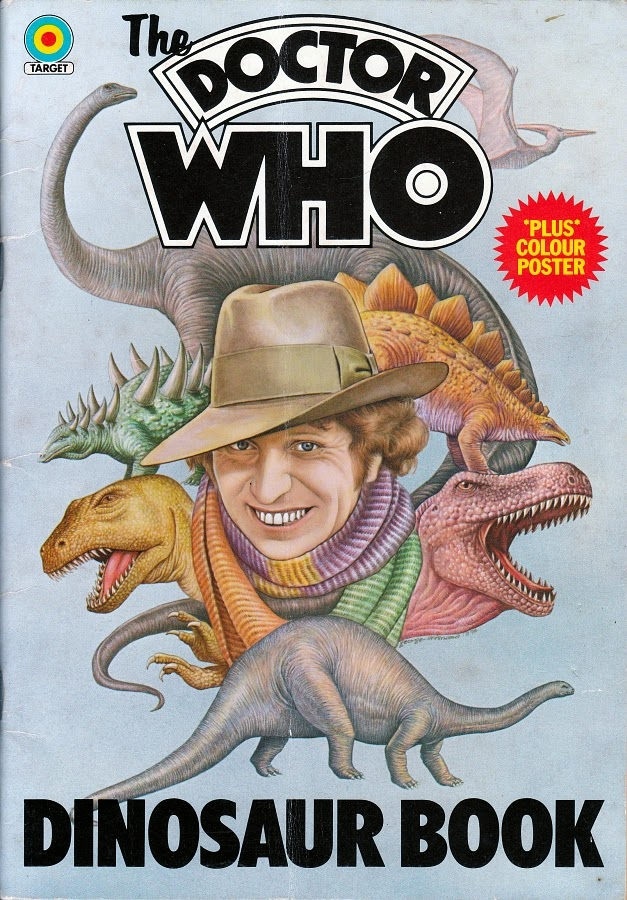 The Doctor Who Dinosaur Book Or At Least This Incarnation Of It Appeared In 1976 And Was Illustrated Rather Accomplished Fashion By George Underwood