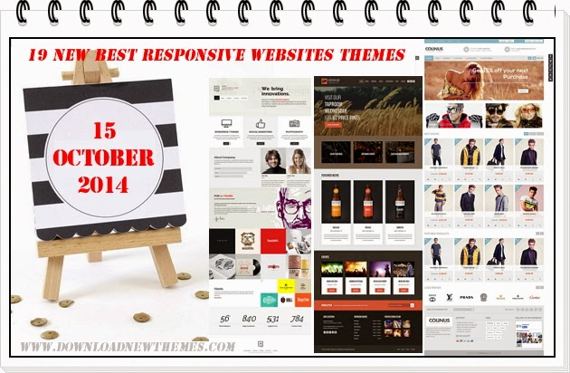 Free Responsive Websites Themes