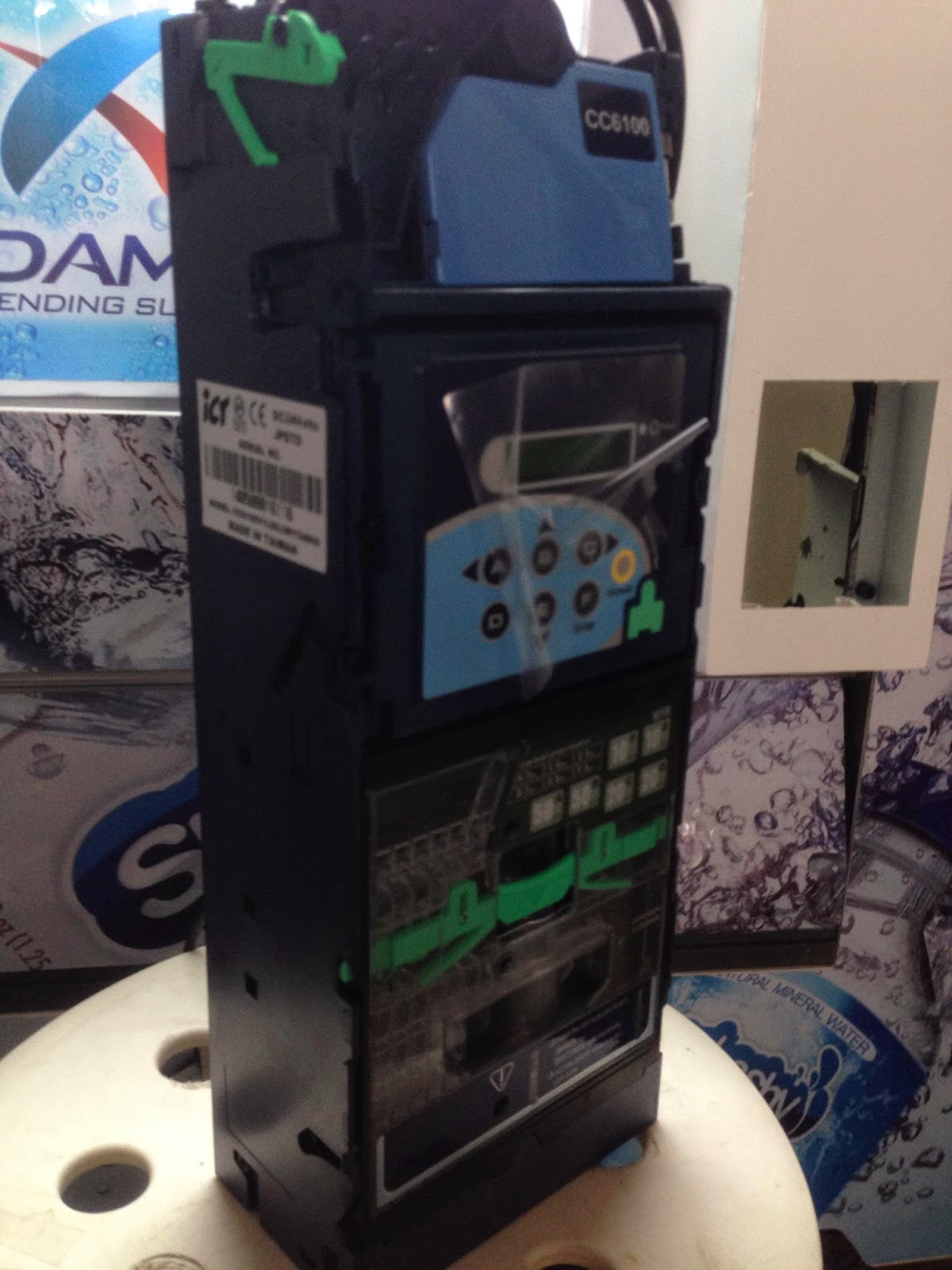vending machine coin changer ict cc6100