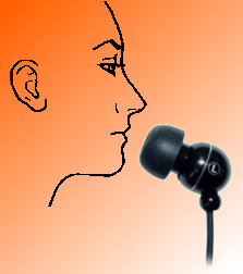 Using Earphone as Microphone