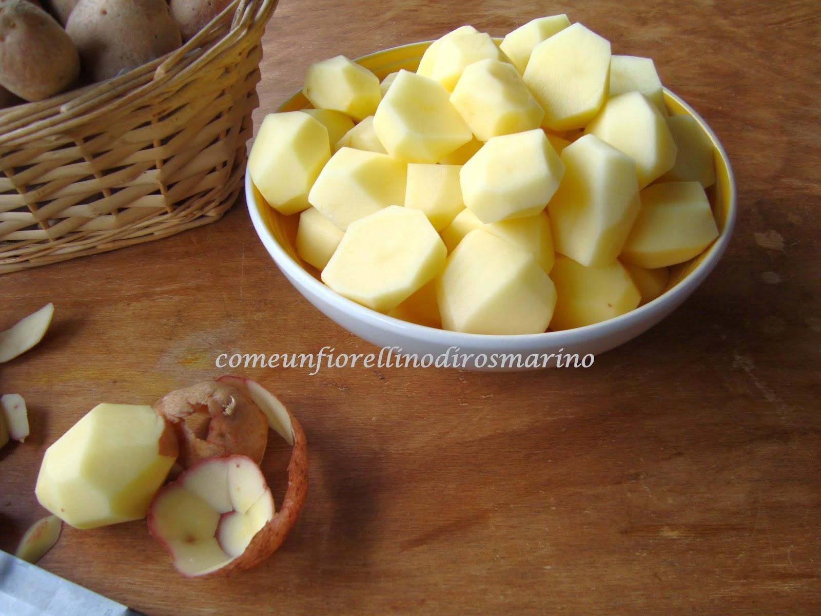 Come un fiorellino di rosmarino patate dorate e for Cosa vuol dire forno statico