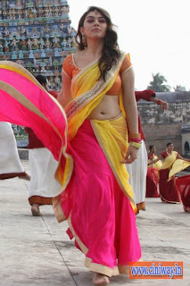 Hansika-Latest-Stills-in-Saree