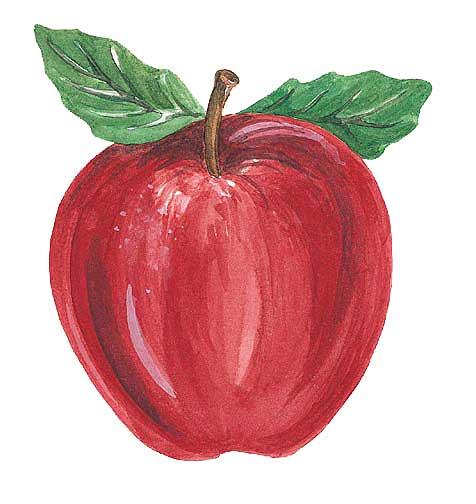 dibujos de manzanas para imprimir
