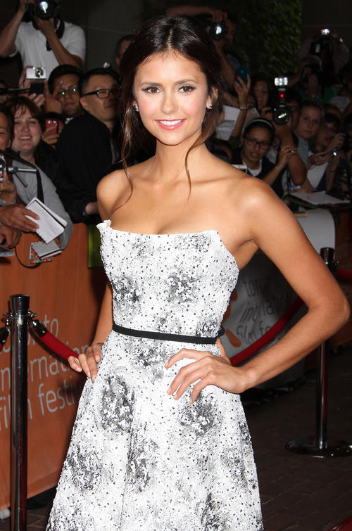 Nina Dobrev Perks Of Being A Wallflower Premiere Hair Nina Dobrev – The Pe...
