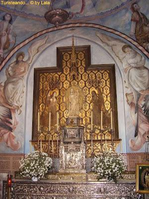 Virgen Milagros Monasterio Rabida
