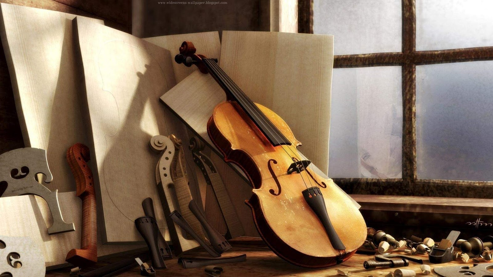Making a great violin - Music Violins Wallpapers