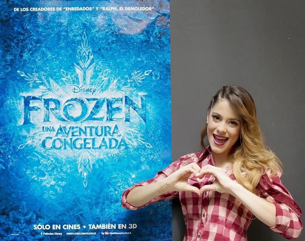 Frozen: Una Aventura Congelada - Libre Soy - Martina Stoessel