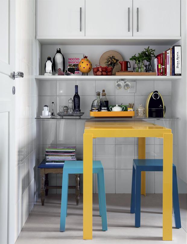 Querido Refúgio  Blog de decoração Ganhar espaço com mesas