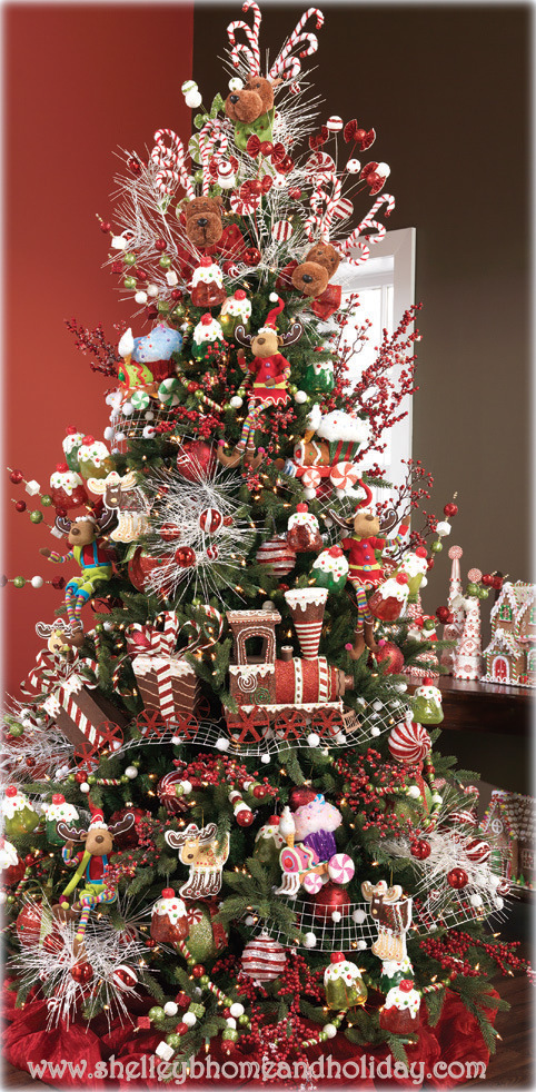 the candy themed christmas decoration collection by