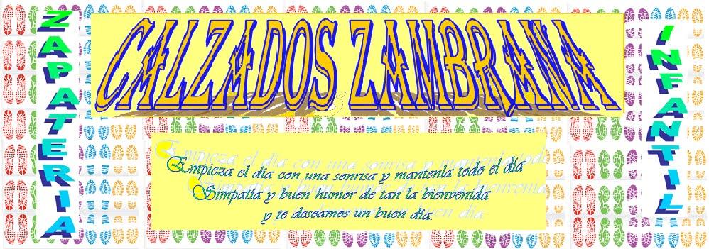 CALZADOS ZAMBRANA ZAPATERIA INFANTIL