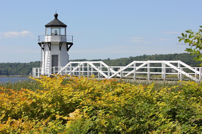 doubling point light, arrowsic, maine
