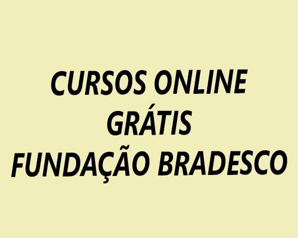 Cursos online fundacao bradesco