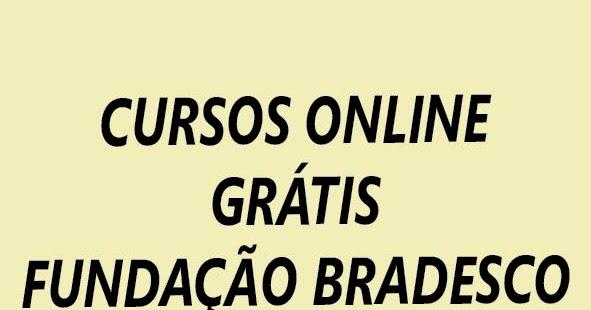 Cursos online bradesco