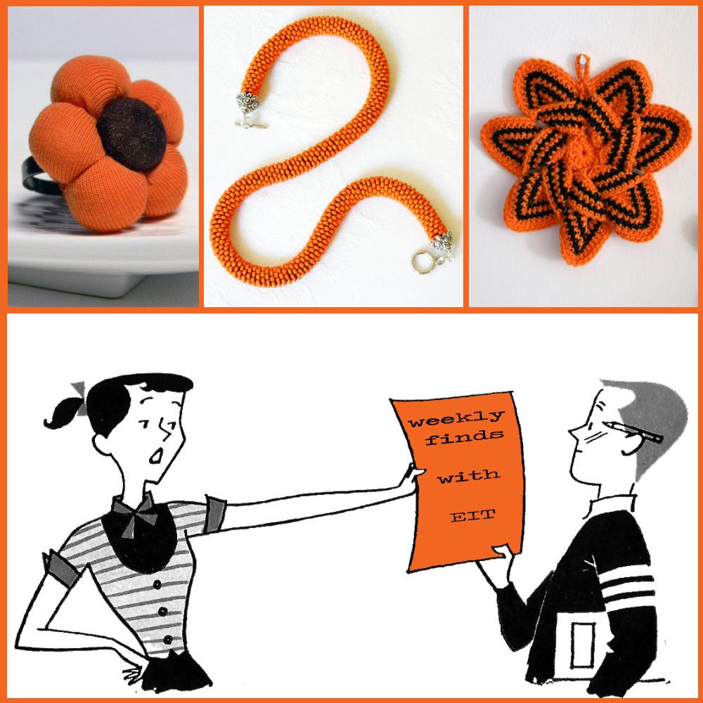 orange, handmade, etsyitaliateam,