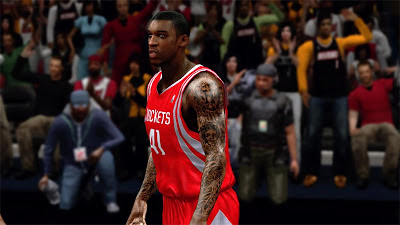 NBA 2K13 Thomas Robinson Full Sleeve Tattoos Cyberface
