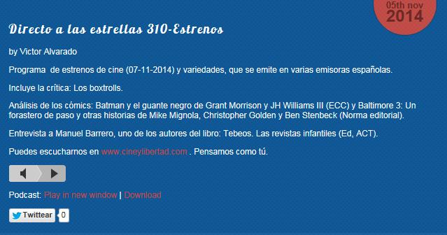 http://www.cineylibertad.com/directo-a-las-estrellas-310-estrenos/