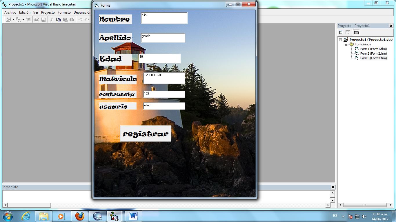 Setelah anda memilih microsoft visual basic 2010 express, maka akan tampil sebagai berikut