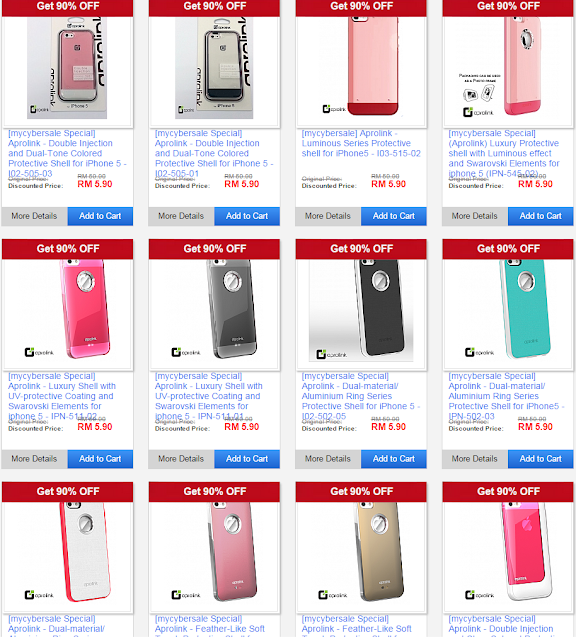 #MYCyberSale 2015 | iPhone cases RM5.90