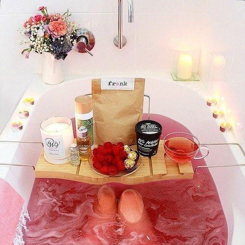 Home Spa Bathtub Pink