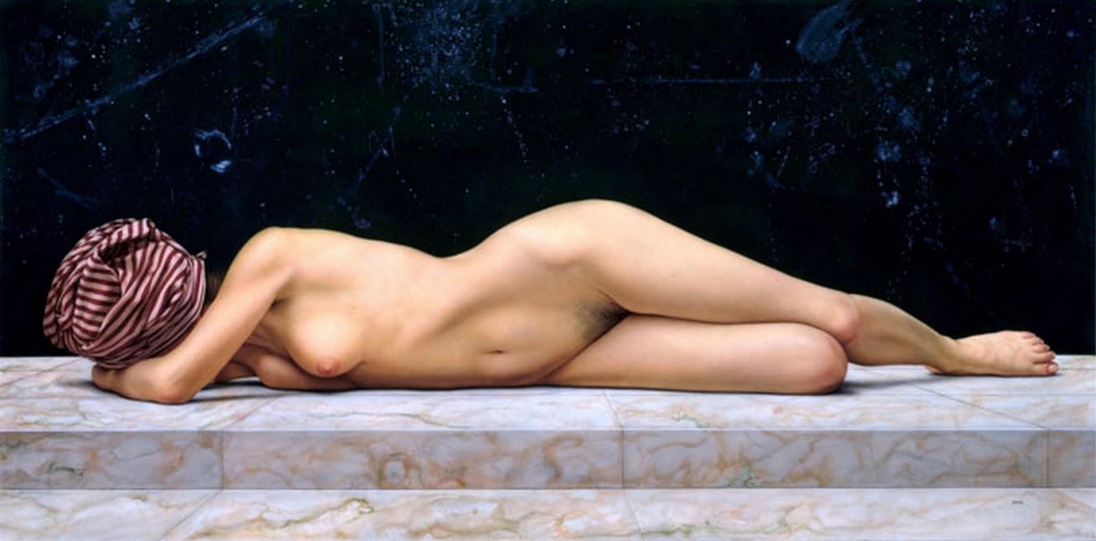 Pinturas Mujer Desnuda