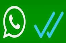 La nueva doble tilde azul para WhatsApp permite saber si un contacto leyó el mensaje que enviamos.