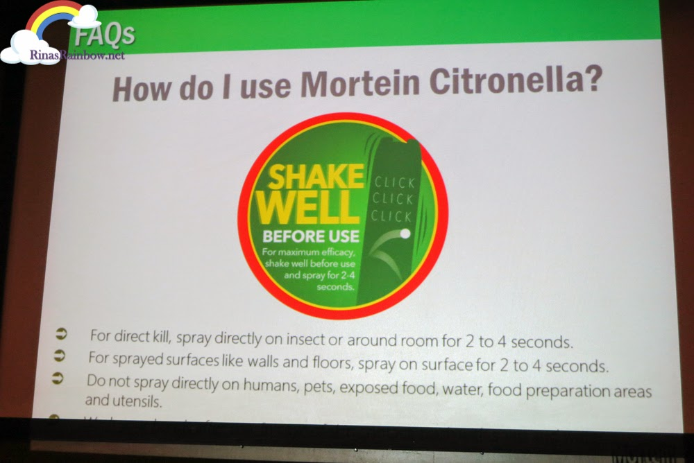 how to use Mortein Citronella