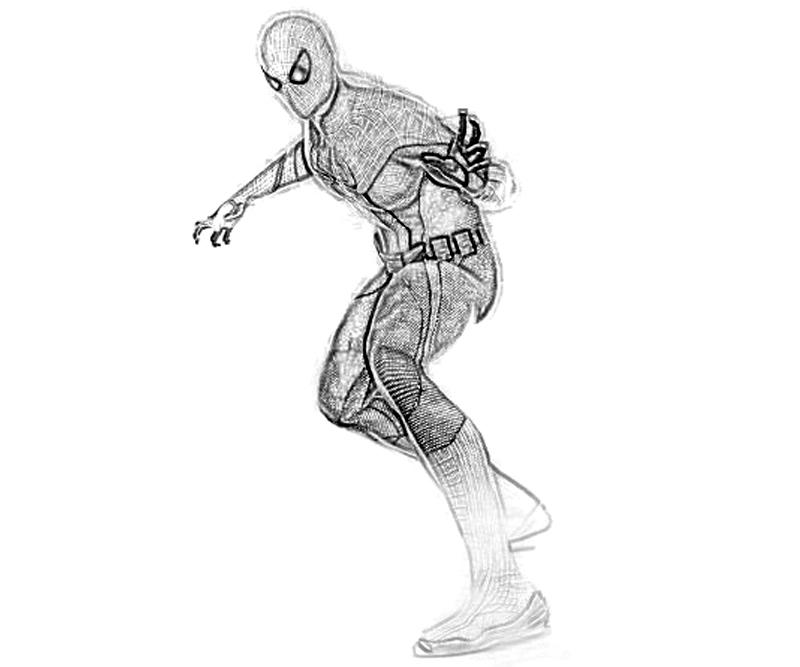 Free amazing spiderman 2 coloring pages for The amazing spider man 2 coloring pages