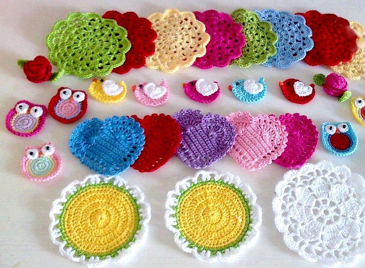Uncinetto e crochet aprile 2013 for Idee uncinetto