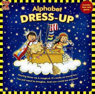 Kiddingly - Book review Alphabet Dress Up