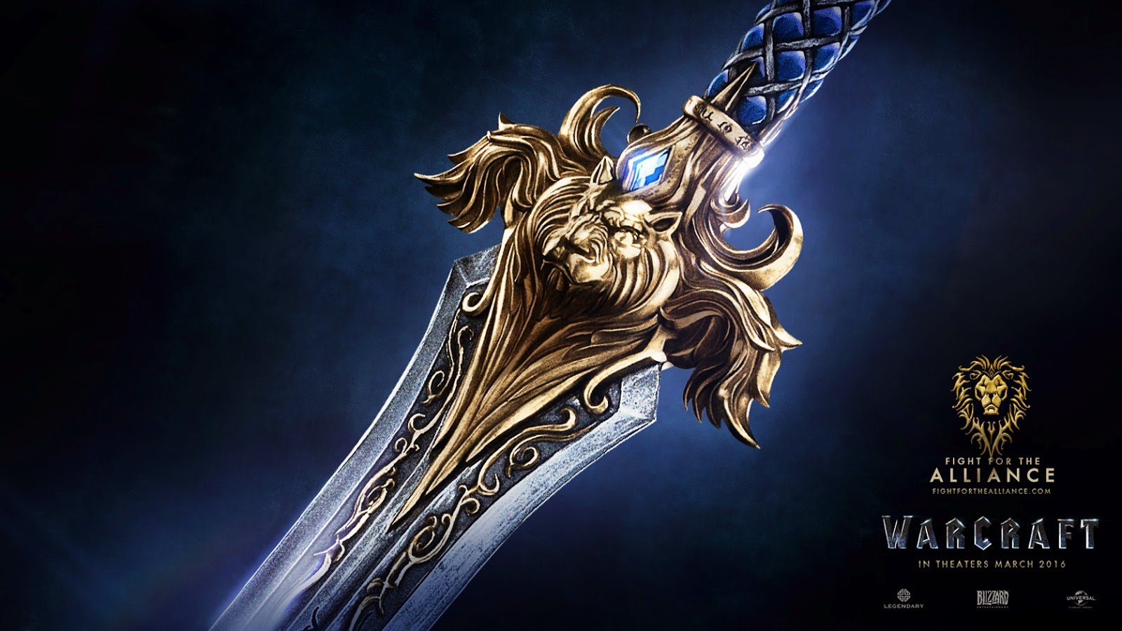 Warcraft Movie Allience Sword HD Wallpaper