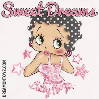 Good Night Sweet Dreams Betty Boop