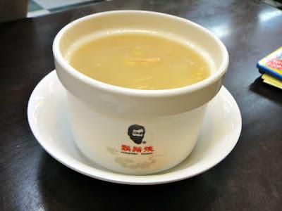 Corn Soup Formosa Chang Taipei Taiwan
