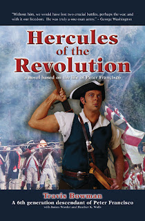 Hercules of the Revolution, a novel about Revolutionary War hero Peter Francisco