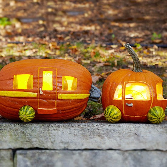 Cutest carved pumpkin ever