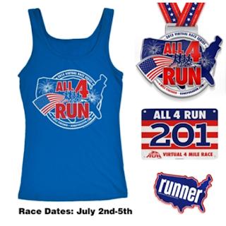 All 4 Run 4 mile race