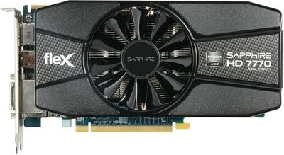 Sapphire AMD/ATI HD 7770 OC Edition 1 GB GDDR5 Graphics Card