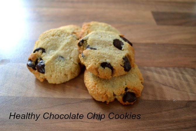 Recipe | Healthy Chocolate Chip Cookies