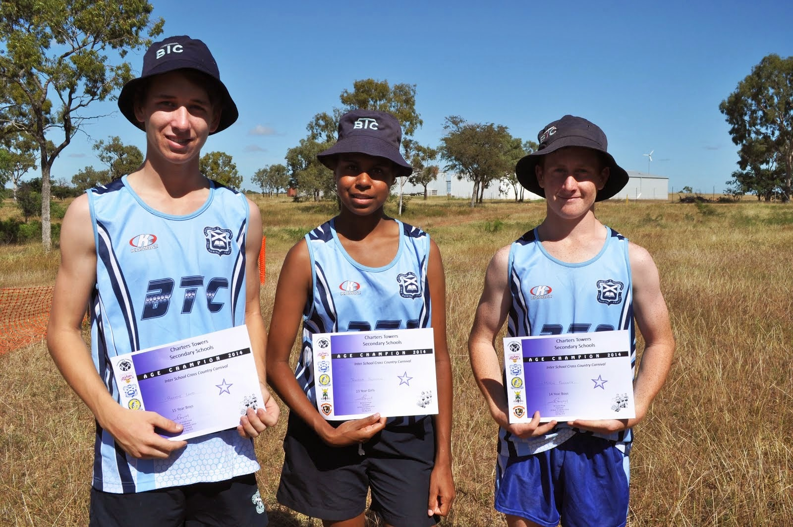 Secondary Interschool Cross Country Age Champions