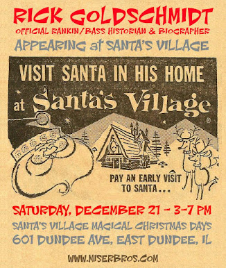 My 2nd appearance at Santa's Village this holiday season will be on Saturday December 21st!
