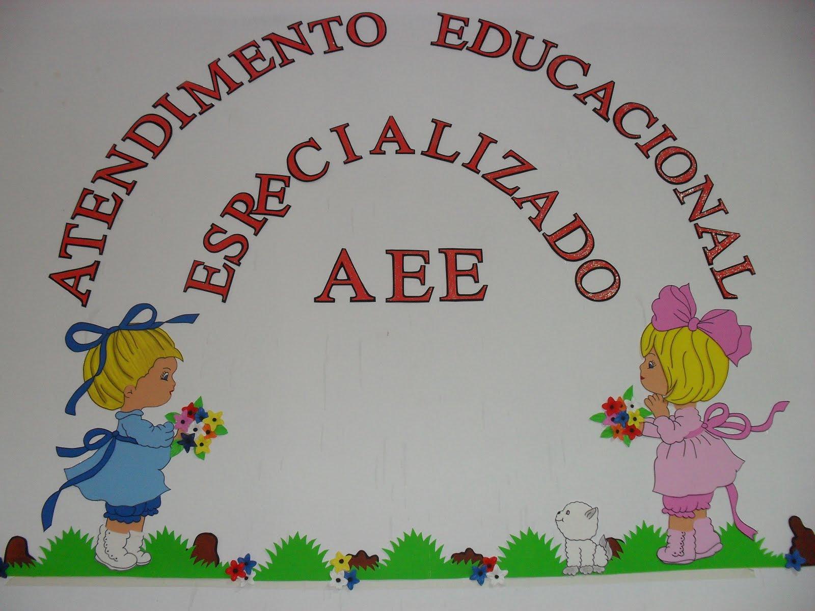Sala Do Aee Atendimento Educacional Especializado Escola Em  -> Decoracao Para Sala De Aee