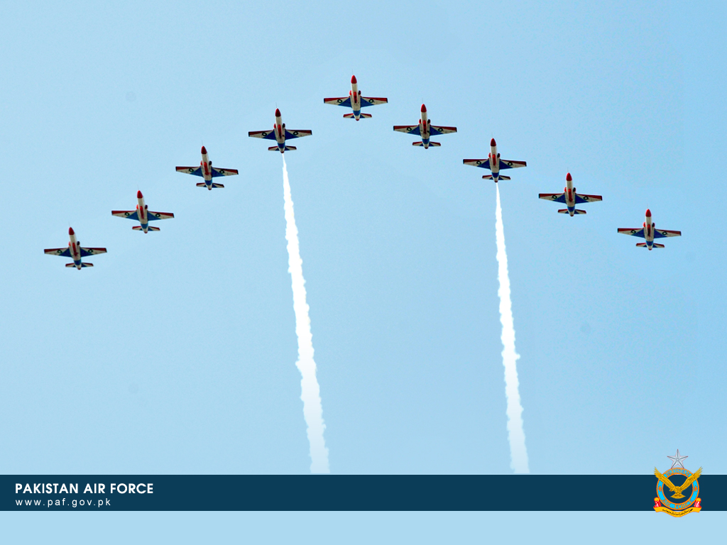 Pakistan Air Force K-8 Training Aircraft Wallpaper