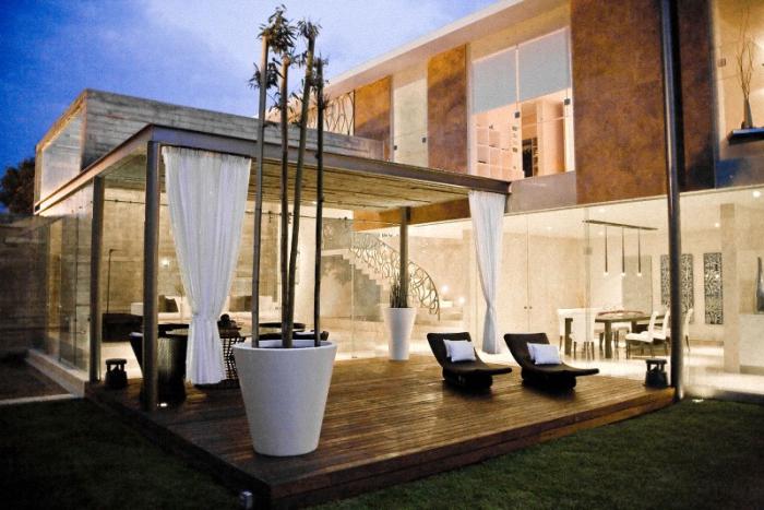 Hogares frescos moderno proyecto residencial con un for Diseno de interiores mexico