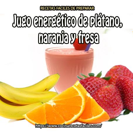 naranja,fresas,plátano