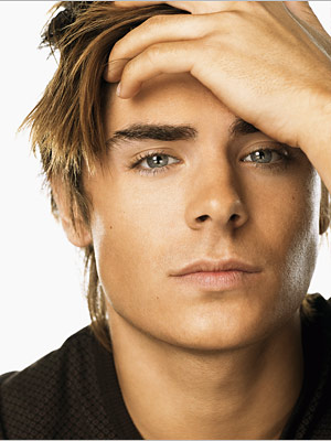 Zach Efron : he got the looks but definitely not the voice.