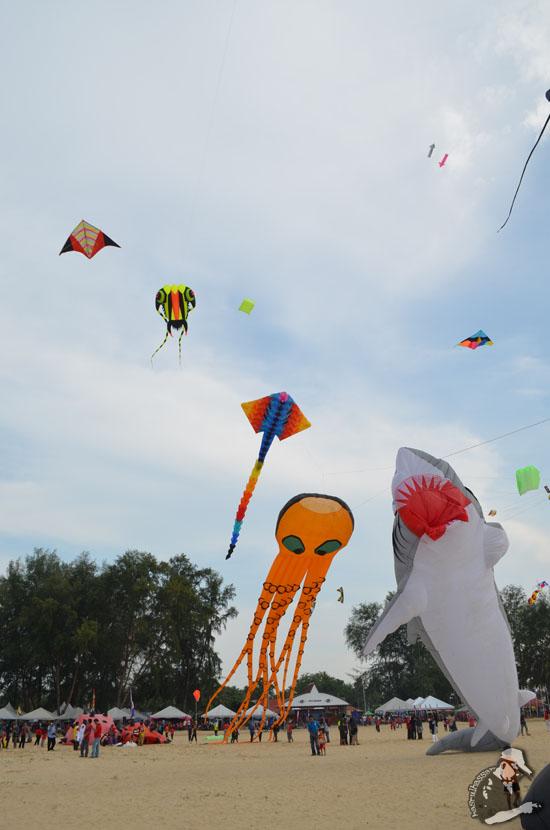 Foto Pesta Wau Antarabangsa Kelantan