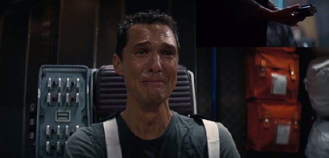 Veja a reação de Matthew McConaughey ao ver o novo trailer de Star Wars: O Despertar da Força